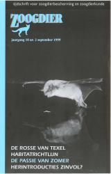 Zoogdier / jaargang 10 / nr. 2 / september 1999
