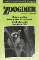 Zoogdier/ jaargang 1 / nr. 3 / oktober 1990