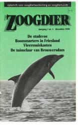 Zoogdier / jaargang 1 / nr. 4 / december 1990