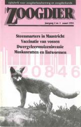 Zoogdier / jaargang 2 / nr. 1 / maart 1991