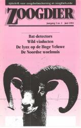 Zoogdier / jaargang 2 / nr. 2 / juni 1991