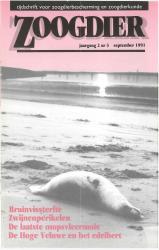 Zoogdier / jaargang 2 / nr. 3 / september 1991