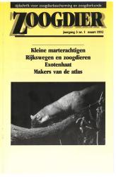 Zoogdier / jaargang 3 / nr. 1 / maart 1992
