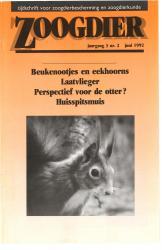 Zoogdier / jaargang 3 / nr. 2 /juni 1992