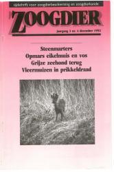 Zoogdier / jaargang 3 / nr. 4 / december 1992