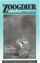 Zoogdier / jaargang 4 / nr. 1 / maart 1993