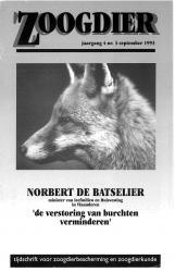Zoogdier / jaargang 4 / nr. 3 /september 1993
