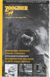Zoogdier / jaargang 9 / nr. 2 / november 1998